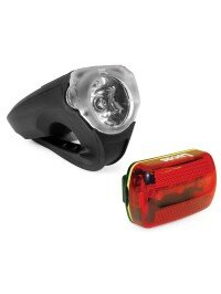DuraLight 100 Lumen Bike Light + FREE Rear